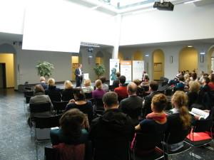 Eröffnung der Konferenz durch Prof. Dr. Lennartz (Uni Vechta)
