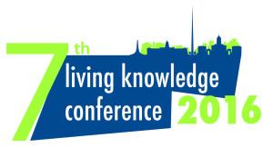 Logo der 7. Living-Knowledge-Konferenz in Dublin © Living Knowledge
