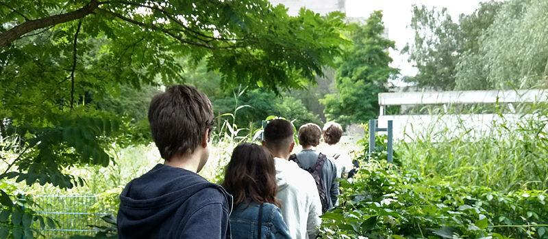 Beim dreitägigen Ökologie-Workshop haben Berliner Schüler_innen erfahren, welche Verbindung zwischen Berlin und der Nordsee besteht.